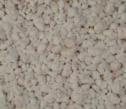 Perlite improves drainage but also holds some water