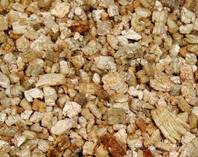 Vermiculite can be used in potting mixes