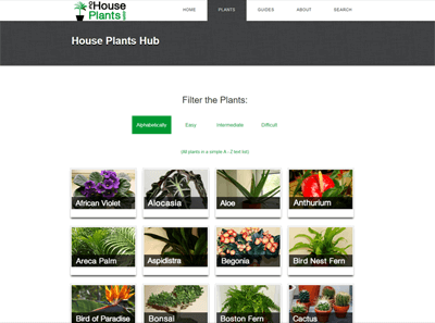Ourhouseplants Plant Hub Screenshot