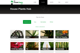 Plant Hub full of plant profiles and helpful care tips